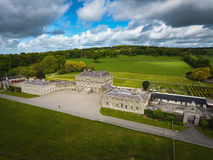 Дом Russborough Wicklow Ирландия стоковая фотография rf