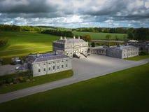 Дом Russborough Wicklow Ирландия стоковые изображения