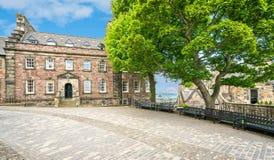 Дом ` s губернатора в замке Эдинбурга Шотландия стоковые фото