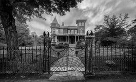 Дом ` s короля Стефана в Бангоре, Мейне стоковая фотография rf