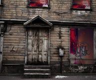 Дом Spoky старый Стоковая Фотография