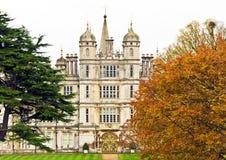 дом stamford Англии burleigh burghley Стоковое Фото