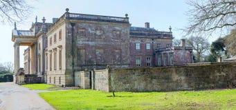 Дом Stourhead осмотренный от северного востока Стоковые Фотографии RF