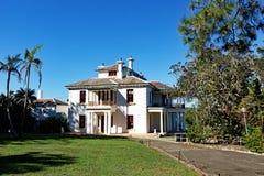 Дом Strickland, Воклюз, Сидней, Австралия стоковое изображение rf