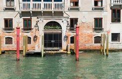 Дом Traitional Венеции, Италия Стоковое Изображение