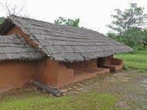 Дом tribals Saoras Стоковые Фото