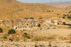 Дом Troglodyte в Matmata, Тунисе, Африке стоковые фото