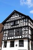Дом Tudor, Честер Стоковое фото RF