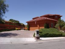 Дом Vegas стоковая фотография