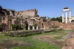Дом Virgins Vestal на холме Palatine Стоковое Изображение RF