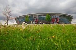 Донецк, Украина - 9-ое мая 2017: Стадион арены Donbass Стоковое Фото