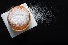 Донут и напудренный сахар Стоковые Фотографии RF