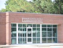 Дополнение школьного района Мариона, Арканзас Crittenden County стоковое изображение rf