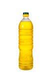 Дополнительные виргинского опарникы масла оливкового масла и семени подсолнуха изолированные на a Стоковая Фотография
