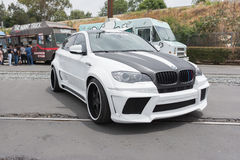 Доработанная серия BMW x Стоковая Фотография