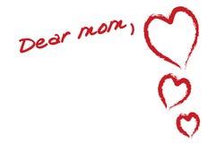 дорогая мама Стоковая Фотография RF