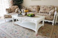 дорогая нутряная живущая роскошная комната Стоковое Изображение