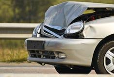 дорога аварии стоковое изображение
