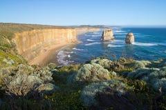 Дорога Австралии, большая океана, 12 апостолов Стоковая Фотография RF