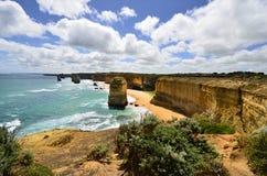 Дорога Австралии, VIC, большая океана Стоковая Фотография RF