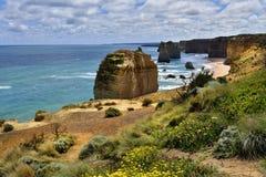 Дорога Австралии, VIC, большая океана Стоковое Изображение