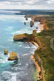 Дорога Австралии, VIC, большая океана Стоковая Фотография