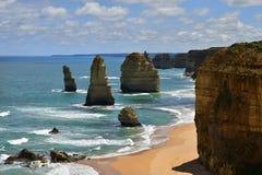 Дорога Австралии, VIC, большая океана Стоковые Фото