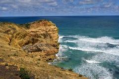 Дорога Австралии, VIC, большая океана Стоковое Изображение RF