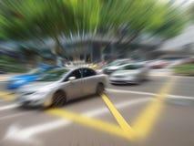 дорога автомобилей Стоковые Изображения