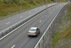 дорога автомобиля урбанская Стоковые Фотографии RF