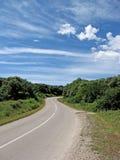 дорога автомобиля Стоковое Изображение RF