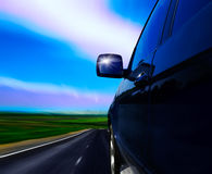 дорога автомобиля Стоковые Фотографии RF