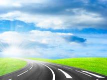 дорога автомобиля Стоковая Фотография RF