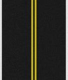 дорога асфальта черная Стоковая Фотография RF