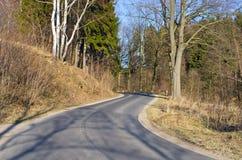 дорога асфальта стоковое изображение
