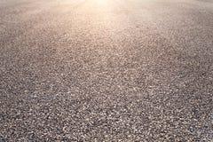 Дорога асфальта конца-вверх новая Стоковые Фото