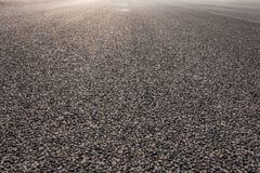 Дорога асфальта конца-вверх новая Стоковое Изображение RF