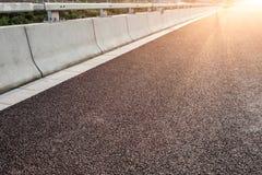 Дорога асфальта конца-вверх новая Стоковая Фотография RF