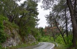 Дорога Бар-Подгорица, Черногория Стоковое Изображение
