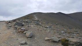 Дорога без Travelled скала стоковая фотография rf