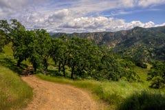 Дорога бедности плоская, парк штата Генри Coe Стоковое Фото