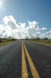 дорога болотистых низменностей Стоковое Изображение RF