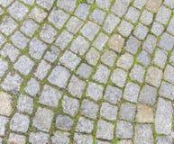дорога булыжника старая Стоковое фото RF