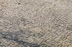 Дорога булыжника Flandres - деталь стоковые фото