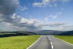 дорога бурная Стоковые Изображения