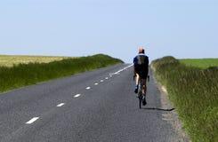 дорога велосипедиста малая Стоковое Фото