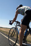 дорога велосипедиста Стоковое фото RF
