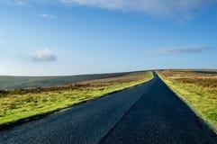 Дорога вересковой пустоши стоковая фотография