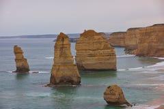 Дорога Виктория Австралия океана 12 апостолов большая Стоковое Изображение RF