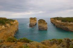 Дорога Виктория Австралия океана 12 апостолов большая Стоковые Изображения RF